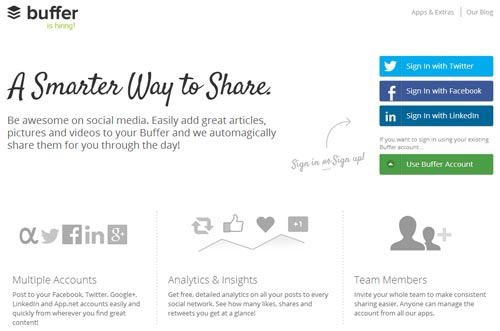 Manage Your Social Media With Buffer
