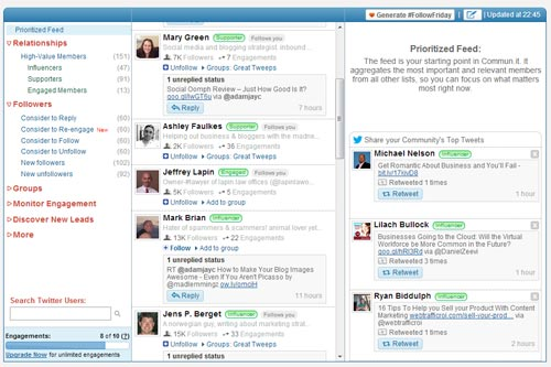 Get more social insights with Commun.It