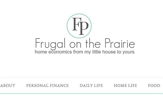 Frugal On The Prairie Old