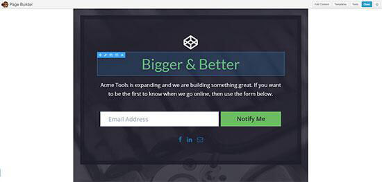 Beaver Builder is a front-end editor that also gives you true what you see is what you get editing. When building your pages, you see the same view as your ...