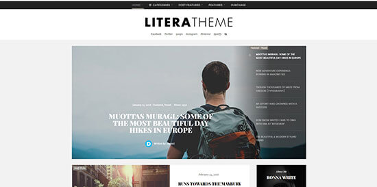 Litera Theme