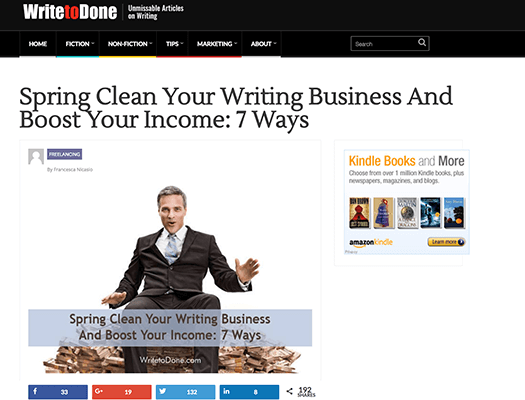 Write to Done Example