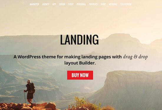Landing Theme