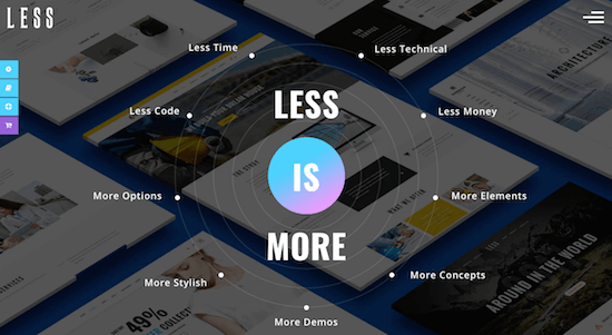Less More